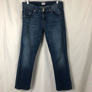 HUDSON CROP BETH BABY BOOT JEANS SIZE 30